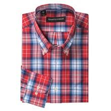 Kenneth Gordon Cotton Plaid Shirt