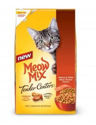 Meow Mix Cat Food 13.5- to 16-Lb. Bags, Select Items