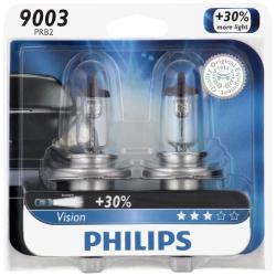 Philips Vision Headlight Bulbs 2-Pk.