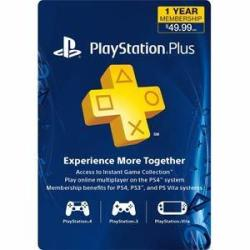 PlayStation Plus 12-Month Subscription Card