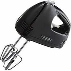 Proctor Silex Easy Mix 5-Speed Hand Mixer in Black