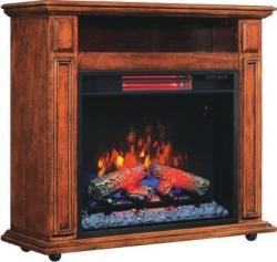 1500W Rolling Fireplace