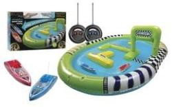RC Speed Boat Racers w/ Pool