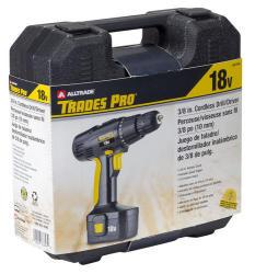 ALLTRADE 18V Cordless Drill Kit