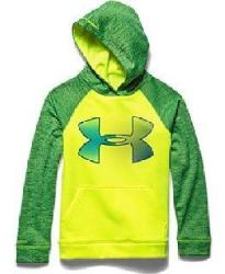 Under Armour Boys' Storm AF Jumbo Big Logo Hoody