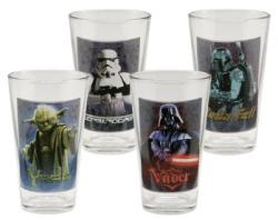 Star Wars 16-Oz. 4-Pc. Glass Set