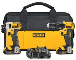 DeWalt 20V Max 2-Tool Kit, $70 Sears credit $200
