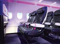 Virgin First Class & Main Cabin Fares: $98 1-way