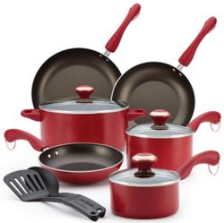 Paula Deen 11-Piece Nonstick Cookware Set for $30