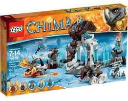 LEGO Chima Mammoth's Frozen Stronghold for $41