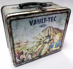 Fallout 4 Vault-Tec Tin Tote for $8