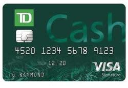 TD Cash Visa(R) Credit Card
