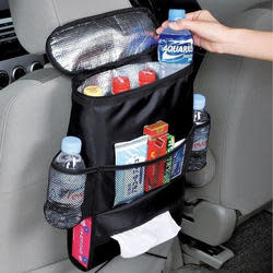Insulated Car Seat Back Organizer for $8