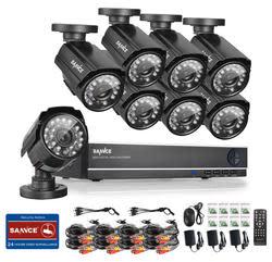 Sannce 8-Cam 960H CCTV Security System