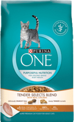 Purina One Tender Selects Cat Food Sample for free