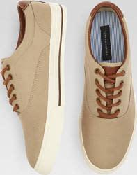 Tommy Hilfiger Men's Paulie Canvas Sneakers $50