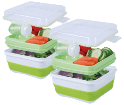 Cool Gear Expandable Salad Kit 2-Pack for $7