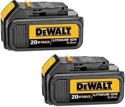 DeWalt 20V Battery 2-Pack, $75 Sears Credit $129