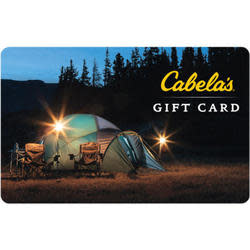 $100 Cabela's Gift Card for $88