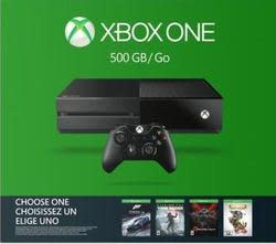 Microsoft Xbox One 500GB Console w/ Game for $200