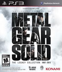 Metal Gear Solid: Legacy Collection for PS3 $20