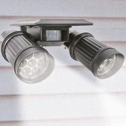 Solar PIR 14-LED Motion Sensor Spotlight for $15 + free shipping