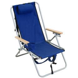 Rio Brands Steel Beach Chair for $8